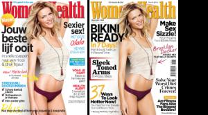 Covers van tijdschrift Womens Health