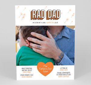 rad dad magazine - vaderdag tijdschrift