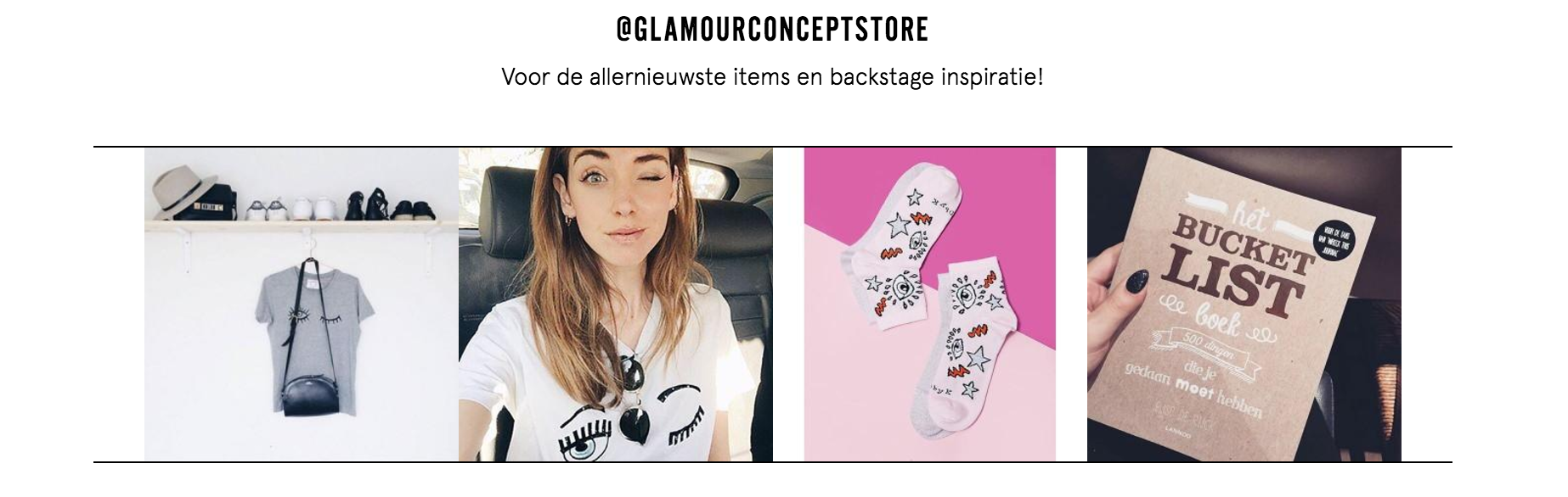 webshop Glamour
