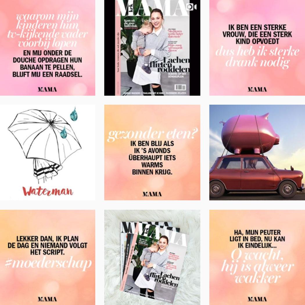 instagram feed kekmamamagazine