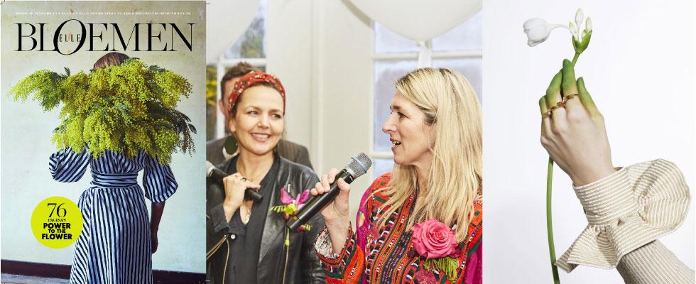 Elle Bloemen maakte een special in samenwerking met het Bloemenbureau Holland