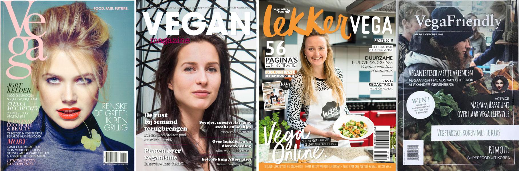 Vegatarische magazines