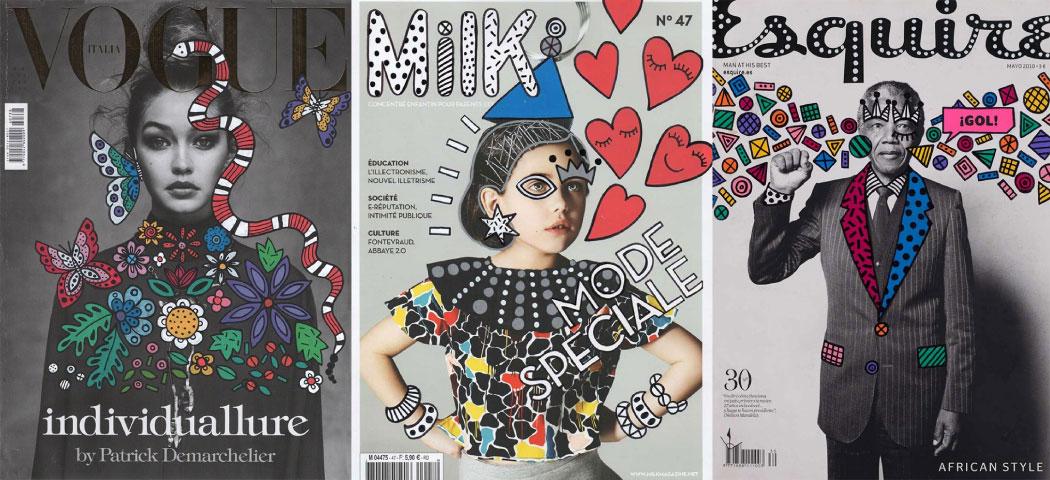 Ana Strumpf Re.Cover magazine covers