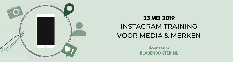 banner instagram training mei 2019 gerelateerd