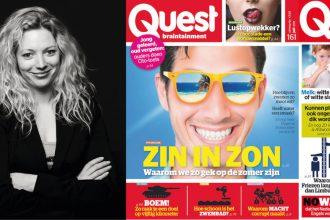 Sanne Groot Koerkamp hoofdredacteur Quest