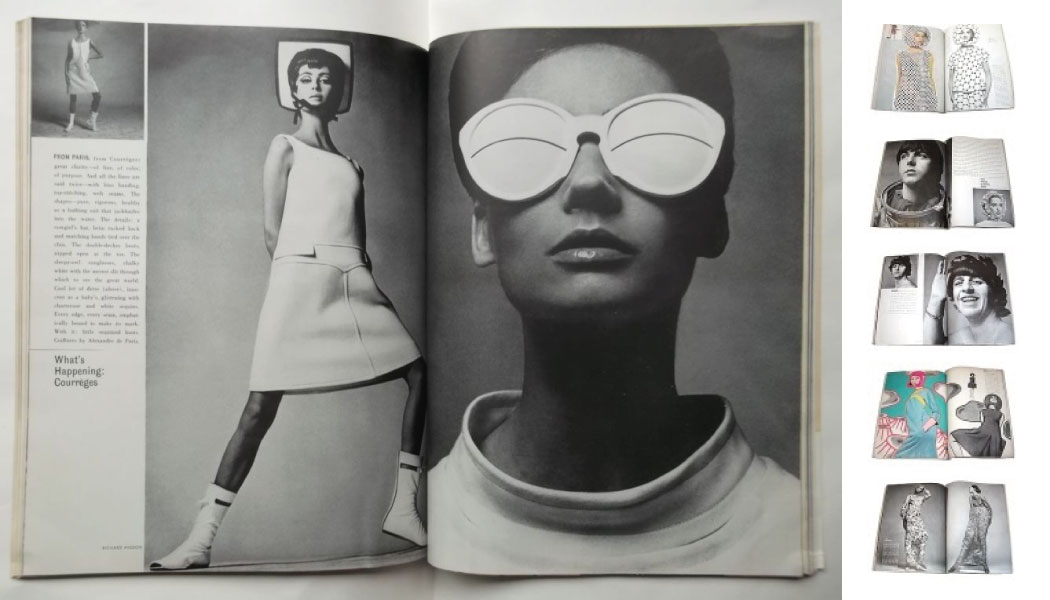 Harpers Bazaar april 1965 Richard Avadon