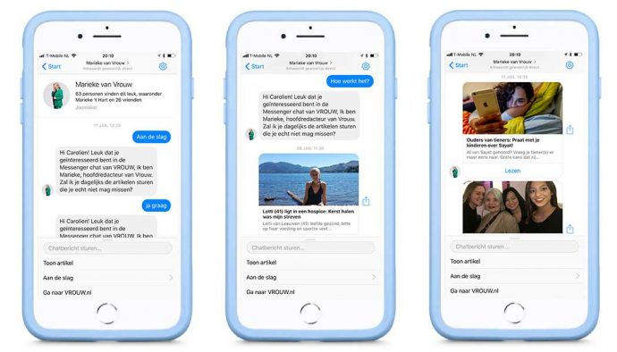 chatbots voor media