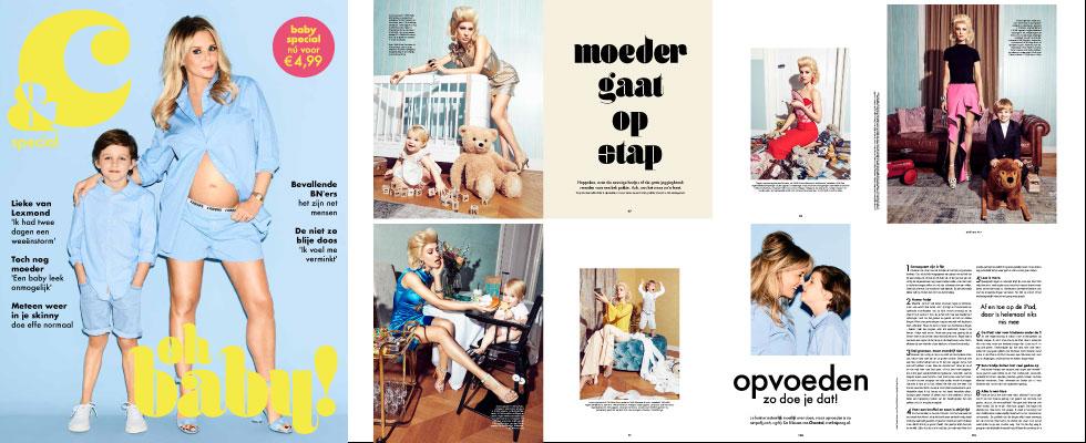 Het magazine van Chantal Janzen &C komt met een babyspecial in samenwerking met Etos