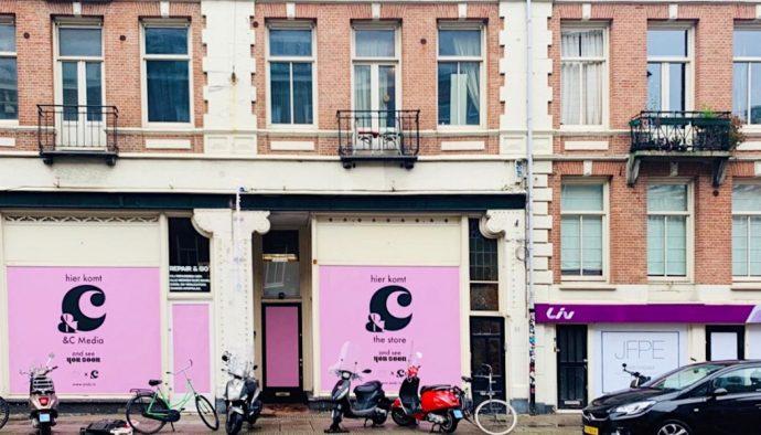 &C redactie chantal janzen winkel cafe