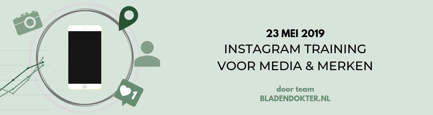 banner instagram training mei 2019 gerelateerd