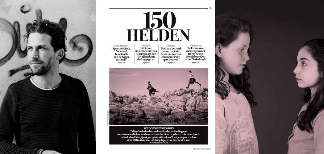 KAN magazine 15ste nummer in het teken van vluchtelingen