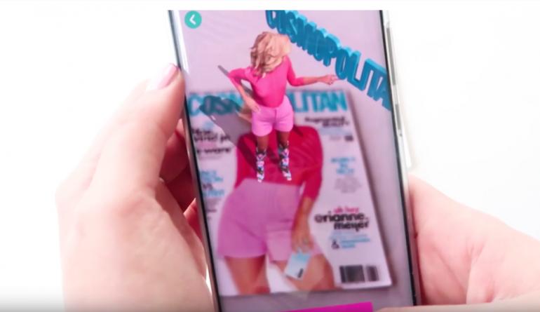 Cosmo lanceert AR cover