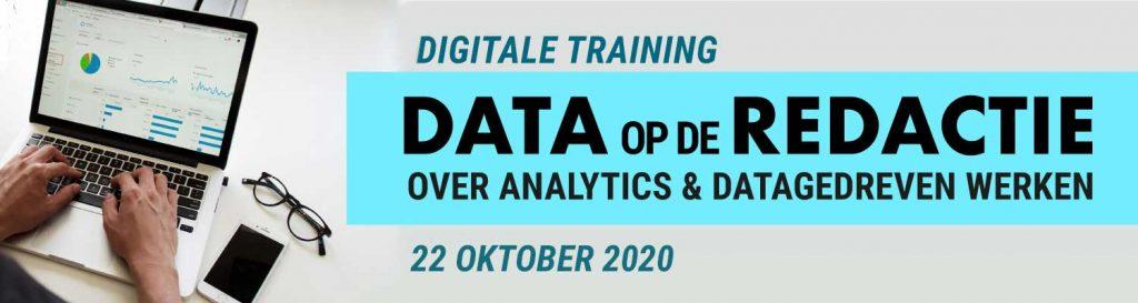 Training Data op de Redactie, over Google, SEO en data gedreven werkwijze