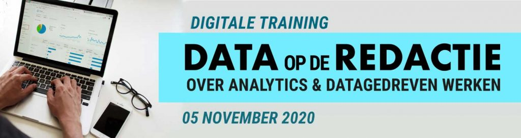 Op 5 november organiseert Bladendokter een training over data analyse voor redacties