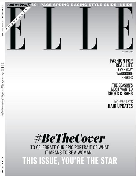 cover Elle Australia