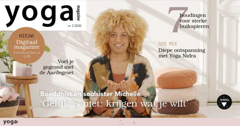 Cover Yoga Magazine digitaal