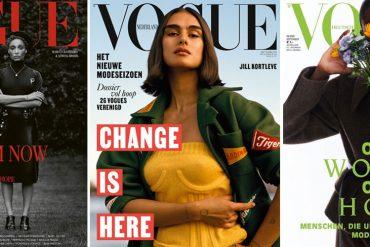 Alle september edities van Vogue in 2020 hebben hetzelfde thema: hoop