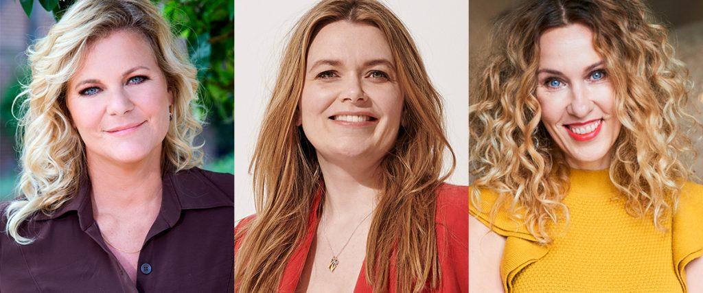 Claudia Straatsmans, Helene van Santen en Justina Marcella zijn genomineerd voor de Mercurs hoofdredacteur van het Jaar 2020