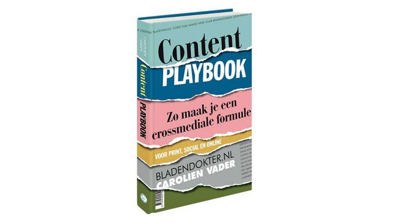 Content Playbook heeft een tweede, herziene druk. Het boek is de handleiding voor het maken van een crossmediale formule en werkproces